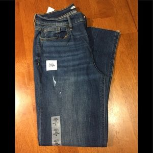 NWT Old Navy Power Straight Leg Jeans
